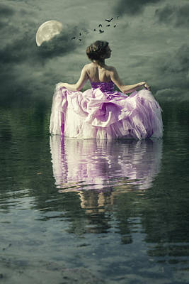Evening Gown Photograph - Lady In The Lake by Joana Kruse