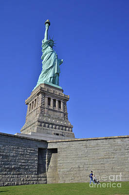 Photograph - Lady Liberty 12 by Allen Beatty