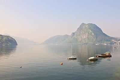Lago Di Lugano Art Print by Joana Kruse