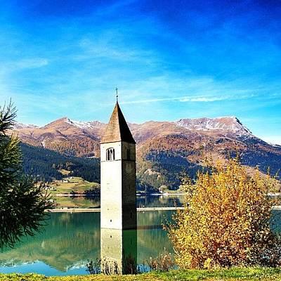 Bestoftheday Photograph - Lago Di Resia - Alto Adige. Reshen by Luisa Azzolini