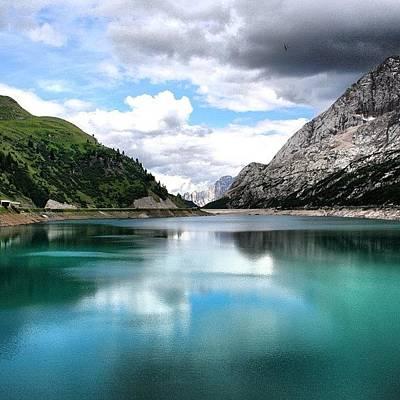 Landscapes Photograph - Lago Fedaia by Luisa Azzolini