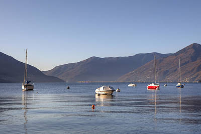 Mountain View Photograph - Lago Maggiore by Joana Kruse