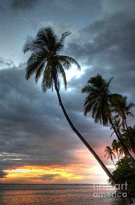 Lahaina Sunset Art Print by Kelly Wade
