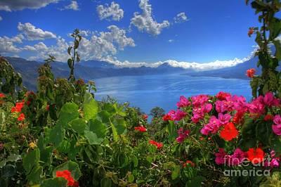 Lake Atitlan Guatemala Art Print