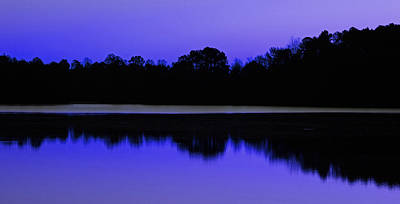Photograph - Lake Brandt In Bluish Purple by Sheila Kay McIntyre
