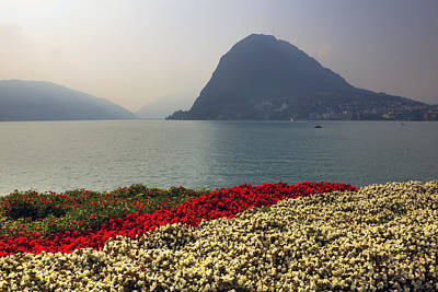 Lake Lugano - Monte Salvatore Art Print by Joana Kruse