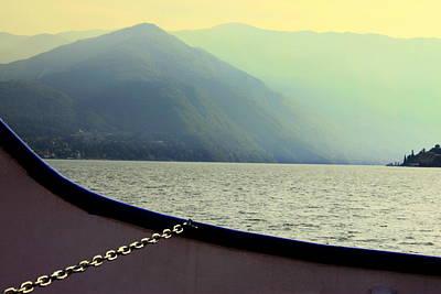 Photograph - Lake Of Como by Valentino Visentini
