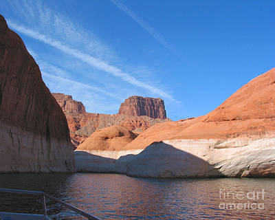 Lake Powell Shoreline Art Print by Merton Allen