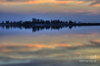 Photograph - Lake Sunset by Jim And Emily Bush