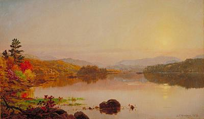 Lake Wawayanda Art Print