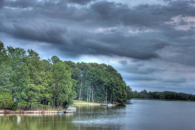 Photograph - Lakeside by Barry Jones