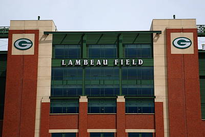 Photograph - Lambeau Field - Green Bay Packers by Frank Romeo