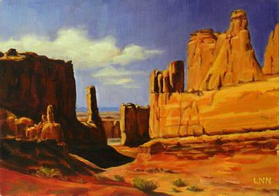 Lane Park  Utah Art Print