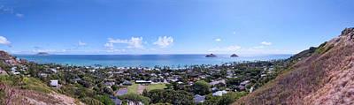 Photograph - Lanikai Beach Panorama by Dan McManus