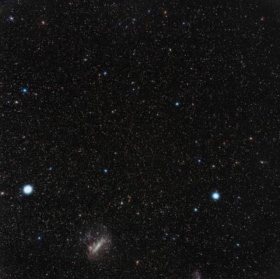 Large Magellanic Cloud Print by Eckhard Slawik