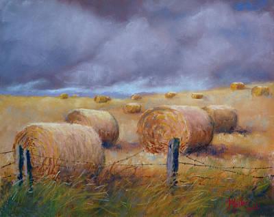 Last Crop Art Print by Marcus Moller