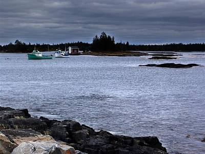 Photograph - Late October In Blue Rocks by George Cousins