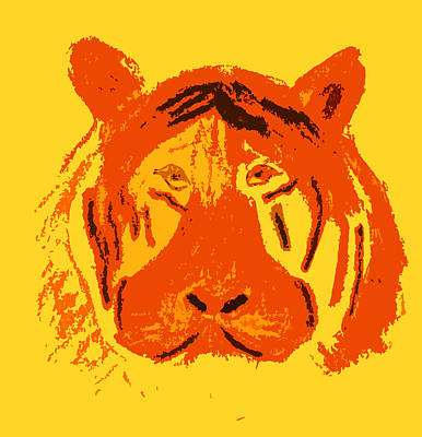 Photograph - Le Tigre by Charles Benavidez