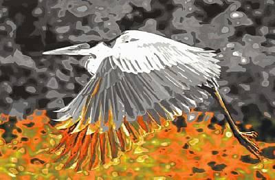 Leaden Wings Art Print