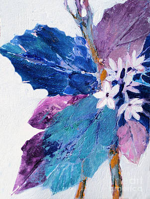 Painting - Leaves Series 3 by Diane Ursin