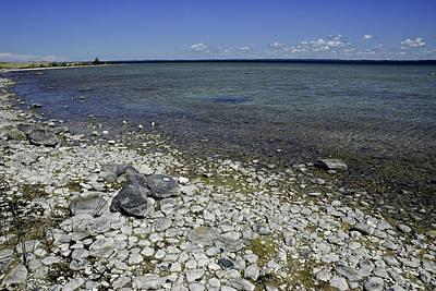 Michigan Mackinac Photograph - Leelanau Michigan Beach by LeeAnn McLaneGoetz McLaneGoetzStudioLLCcom