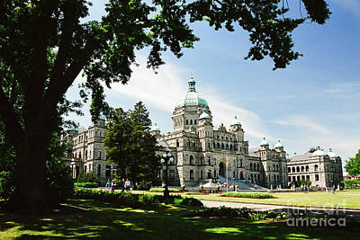 Photograph - Legislative Buildings by Frank Townsley