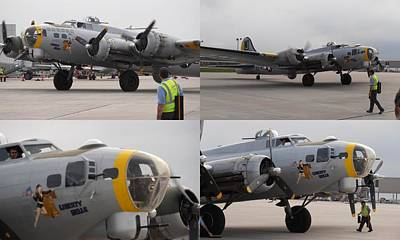 Photograph - Liberty Belle B17  by Tim Donovan
