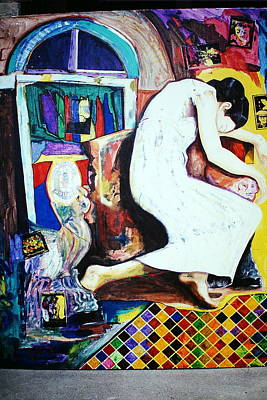 Occupy Painting - Liberty In Despair by David Deak