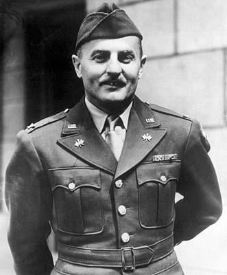 Lieutenant Colonel Darryl F. Zanuck Print by Everett