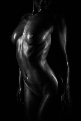 Body Scape Photograph - Light by Naman Imagery
