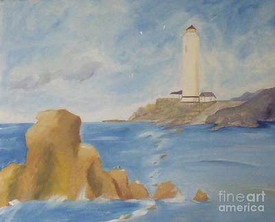 Painting - Lighthouse by Debra Piro