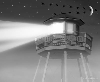 Lighthouse Dreaming  Art Print by Brian Wallace