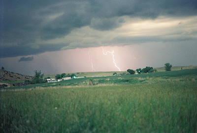 Photograph - Lightning Loop by Trent Mallett
