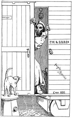 Photograph - Lincoln Cartoon, 1863 by Granger