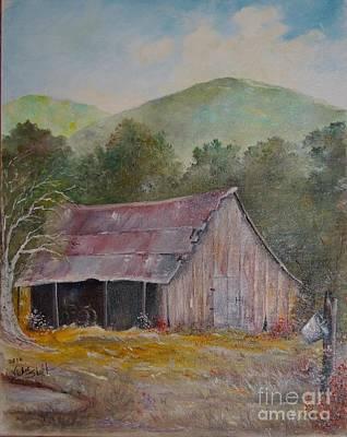 Linda's Barn Original by Vickie Shelton