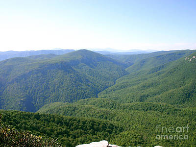 Photograph - Linville Gorge by Annlynn Ward