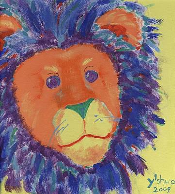 Lion Art Print by Yshua The Painter