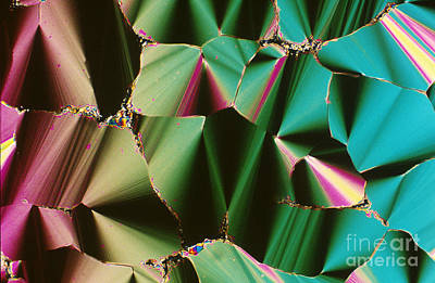 Liquid Crystalline Dna Art Print