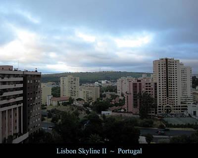 Photograph - Lisbon Skyline II Portugal by John Shiron
