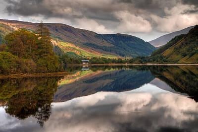 Loch Dughaill Scotland Uk Original