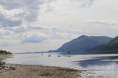 Photograph - Loch View by David Grant
