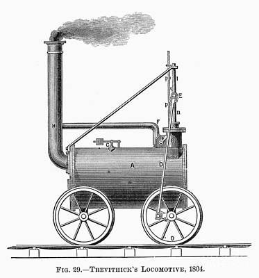 Locomotive, 1803 Art Print