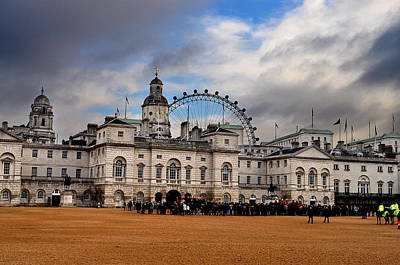 London Cityscape Original by Loredana Paraponte