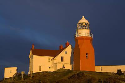 Long Point Lighthouse, Twillingate Art Print by John Sylvester