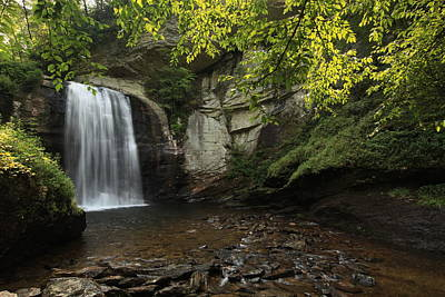 Art Print featuring the photograph Looking Glass Falls by Doug McPherson