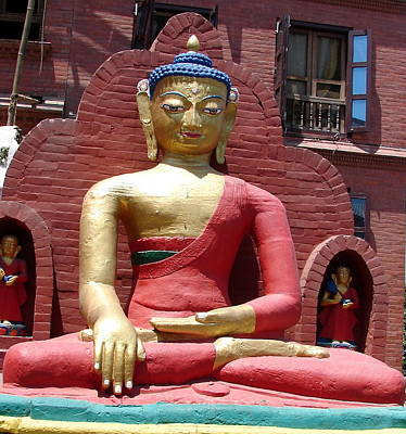 Photograph - Lord Buddha-1 by Anand Swaroop Manchiraju