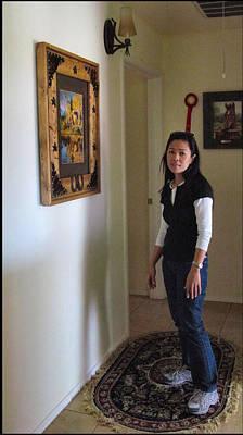 Photograph - Lorna - Painting 2009 by Glenn Bautista