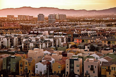 Los Angeles Vista Art Print by Photo taken by Phong Ho