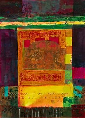 Lost In The Desert Art Print by Marie Cummings
