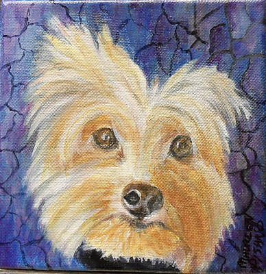 Painting - Louie by Maureen Pisano